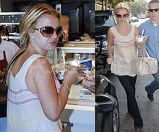 Photos of Britney Spears Before the Premiere of Womanizer Video