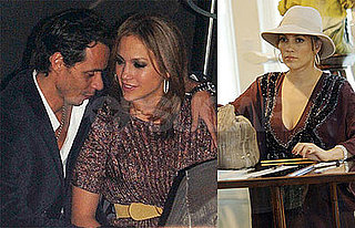 Photos of Jennifer Lopez and Marc Anthony at Bank Nightclub in Las Vegas