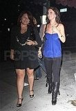 Lauren and Audrina in LA