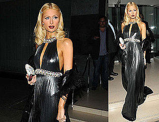 Photos of Paris Hilton in London On Her Way to a Party