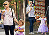 Photos of Michelle Williams and Matilda Ledger Dressed as a Princess in Brooklyn