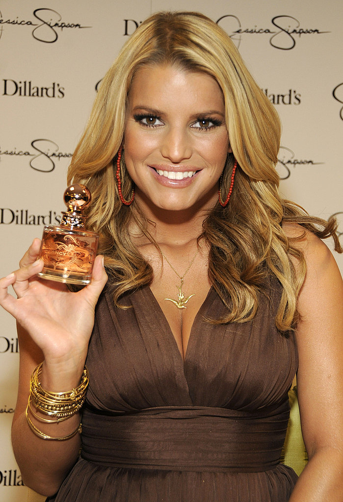 Jessica Simpson at Dillards