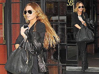 Photos of Lindsay Lohan and Samantha Ronson Taking Amtrak Train from NYC to DC