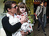 Photos of Tom Cruise, Suri Cruise, Katie Holmes in New York City