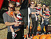 Photos of Britney Spears At The Pumpkin Patch With Sean Preston and Jayden James