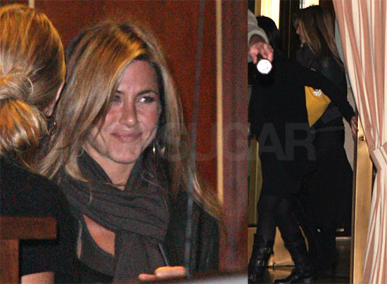 Jennifer Aniston at Sunset Tower