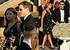 Photos of Matt Damon and Luciana Barroso at a Wedding