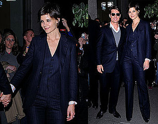 Photos of Tom Cruise and Katie Holmes in NYC 2008-10-21 13:30:50