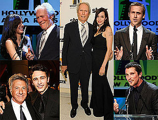 Photos of Angelina Jolie, Clint Eastwood, Christian Bale, James Franco, Ryan Gosling, Dustin Hoffman at Hollywood Film Festival