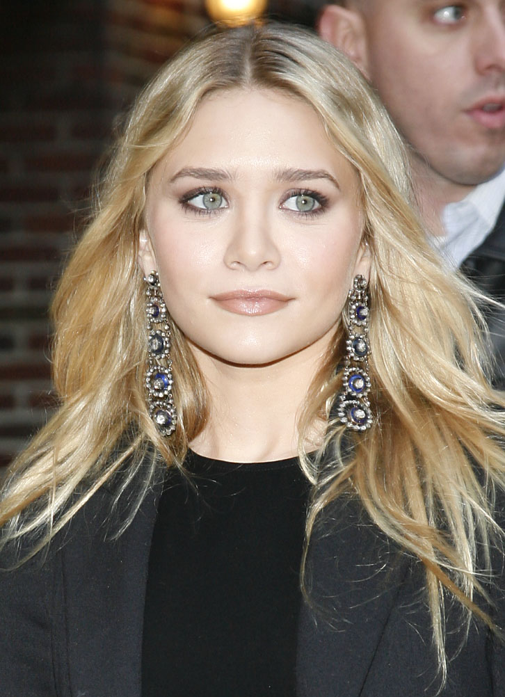 Ashley Olsen on Letterman