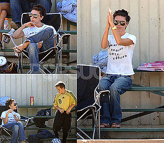 Photos of Victoria Beckham at Brooklyn Beckham's Soccer Game