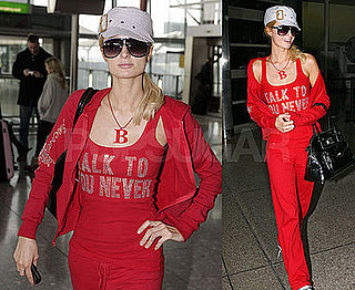 Photos of Paris Hilton Arriving at LAX
