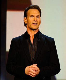 Photo of Patrick Swayze, Who Recently Gave First Interview Since Pancreatic Cancer Diagnosis, Called Chemo Hell on Wheels