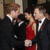 Daniel Craig Meets Prince William at the Bond Premiere