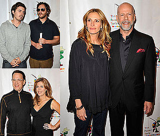Photos of Celebrities Julia Roberts, Bruce Willis, Tom Hanks, Casey Affleck, Joaquin Phoenix