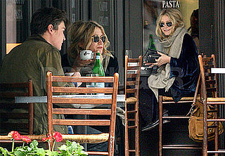 Photos of Mary-Kate Olsen At Lunch With Boyfriend Nate Lowman, Clips Of Her On Samantha Who?