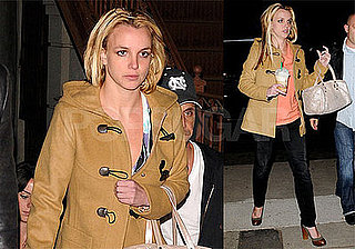 Photos of Britney Spears at International Dance Studio in Hollywood; She Will Perform on X-Factor Nov. 15