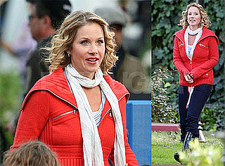 Christina Applegate Filming Everything Is Going to Be Just Fine in Los Angeles