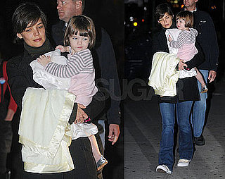 Katie and Suri Face the Dark City Nights