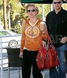 Britney At Starbucks in Orange