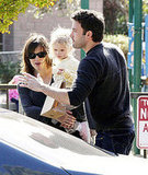 Affleck Family At the Park