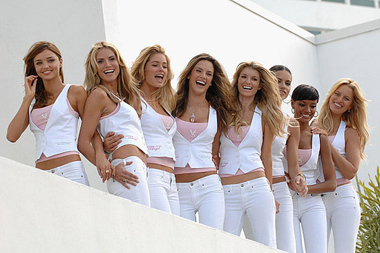 Heidi Klum and Victoria Secret Angels