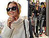 Photos of Linday Lohan and Samantha Ronson Shopping in London