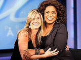 Jennifer Aniston on Oprah
