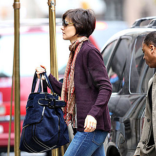 Katie Holmes Arrives at Her NYC Apartment 2008-11-16 11:00:00