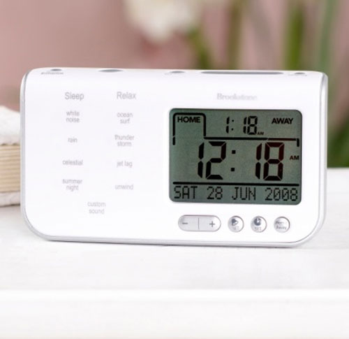 Portable Sound Machine Alarm Clock