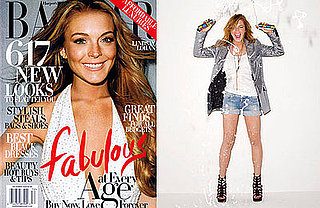 Photos and Quotes From Lindsay Lohan in December's Harper's Bazaar
