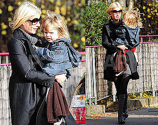 Photos of Gwyneth Paltrow Picking Up Moses Martin From School