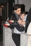 Katie and Suri Kissing