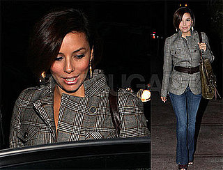 Photos of Eva Longoria at Beso Restaurant in Hollywood