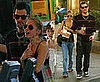 Photos of Nicole Richie and Joel Madden at Baja Fresh in LA