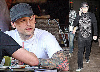 Photos of Benji Madden in Hollywood Following Split with Paris Hilton