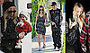 Photos of Nicole Richie Taking Baby Harlow Madden For a Walk in LA