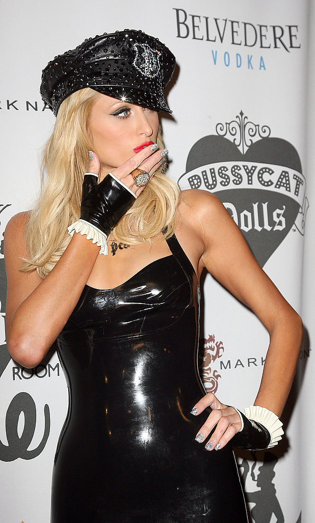Paris Hilton at Pussycat Dolls