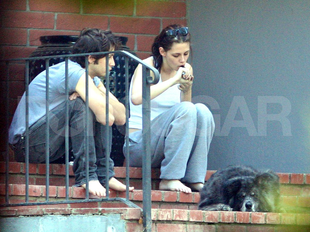 Kristen Stewart Smoking Pot