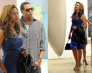 Photos of Beyonce Knowles and Jay-Z at Art Basel in Miami Beach