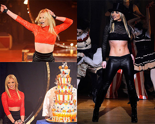 Photos and Videos of Britney Spears Performing Circus and Womanizer on Good Morning America