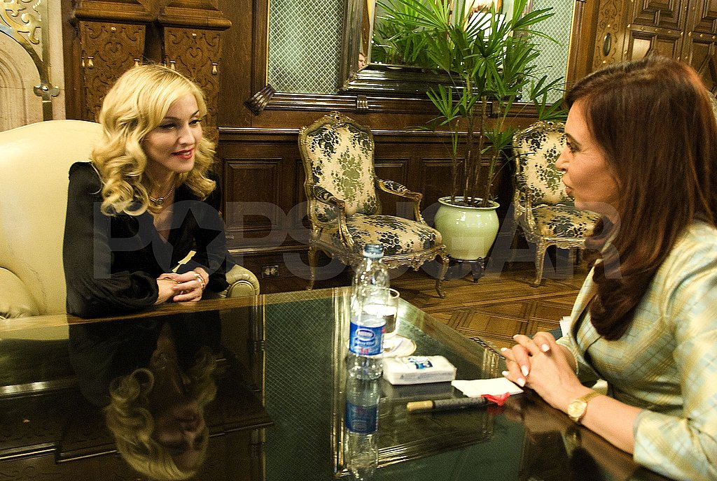 Madonna Out To Eat in Argentina
