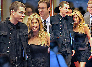 Photos of Jennifer Aniston and John Mayer After the Premiere of Marley & Me in LA