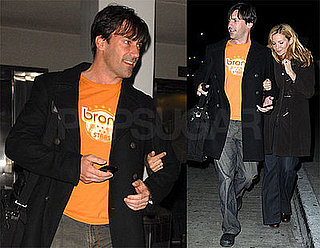 Photos of Jon Hamm at LAX
