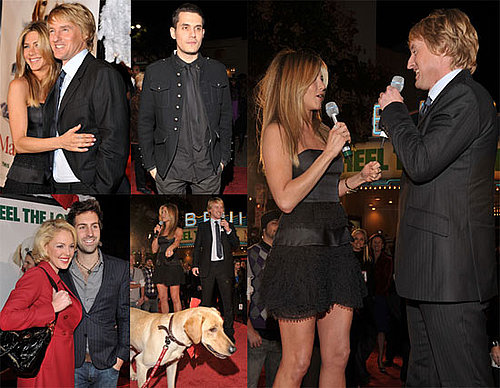 Photos of Jennifer Aniston, Owen Wilson, John Mayer, Eric Dane At Marley & Me Premiere in LA
