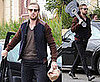 Photos of Ryan Gosling in LA Carrying a Guitar