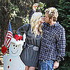 Photos of Heidi Montag and Spencer Pratt Christmas Tree Shopping in LA