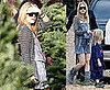 Photos of Kate Hudson and Ryder Robinson in LA Shopping for Christmas Tree