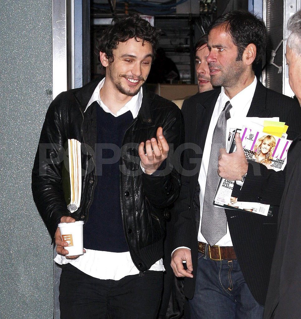 James Franco Leaving Morning Show