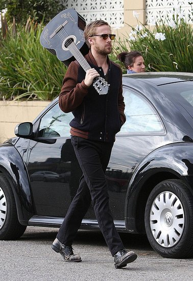 Ryan Gosling and His Guitar